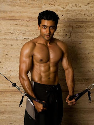 Tamil Movie Lyrics Blog  Pictures of Surya Six Pack Abs Gallery