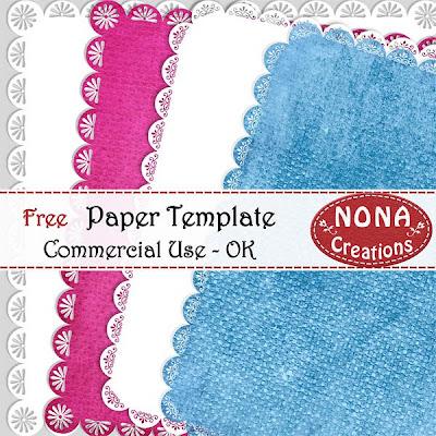 http://nonascreations.blogspot.com/2009/09/freebie-cu-paper-templates.html