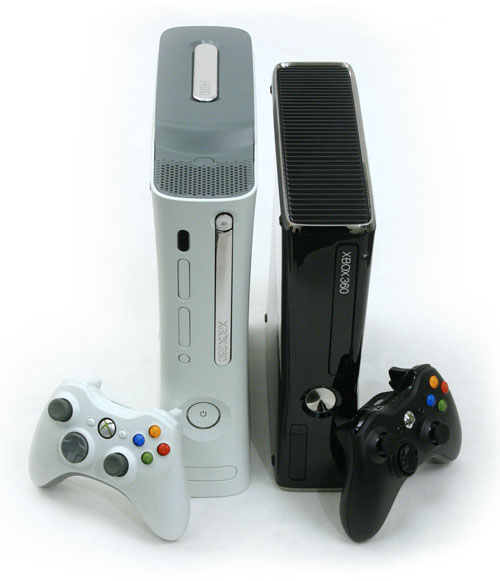Xbox 360 Slim Vs Xbox 360 Pro Noise and power - GURU Of ...