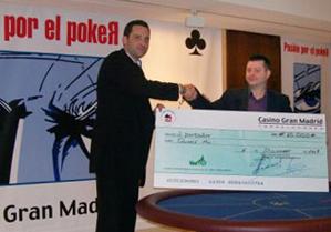 Primer Puesto en el Casino Gran Madrid de Torrelodones