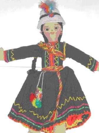 TRAJES DE BOLIVIA