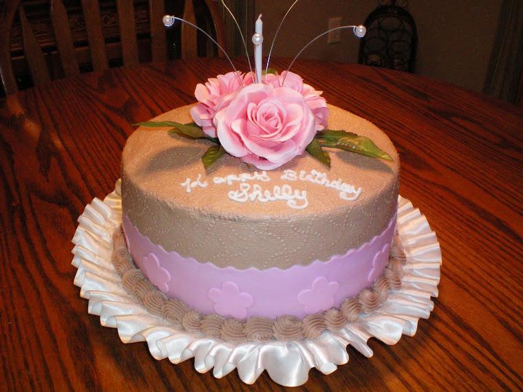 Fetus Birthday Cake