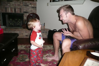 Kaleb loves his Uncle Chad