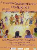 1 Encuentro Sudamericano de Mujeres Para la Sanacion Del Planeta