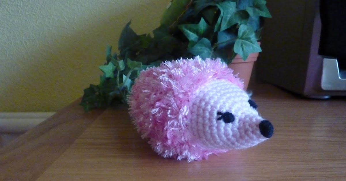 Sparkly Hedgehog Knitting Pattern : Yellow, Pink and Sparkly: Hedgehog Barbie