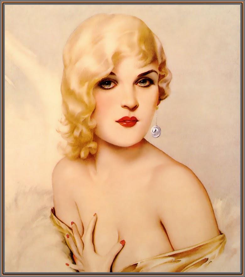 Варгас рисовал многих известных женщин, среди них были Olive Thomas, Billie Burke, Nita Naldi, Marilyn Miller...