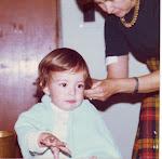Micky en la peluquería