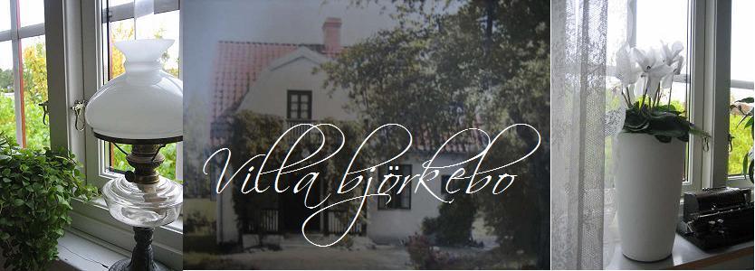 Villa björkebo