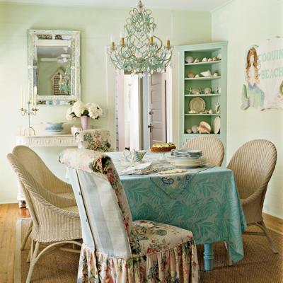 Vintage pretty shabby chic interior design for Shabby chic interior designs