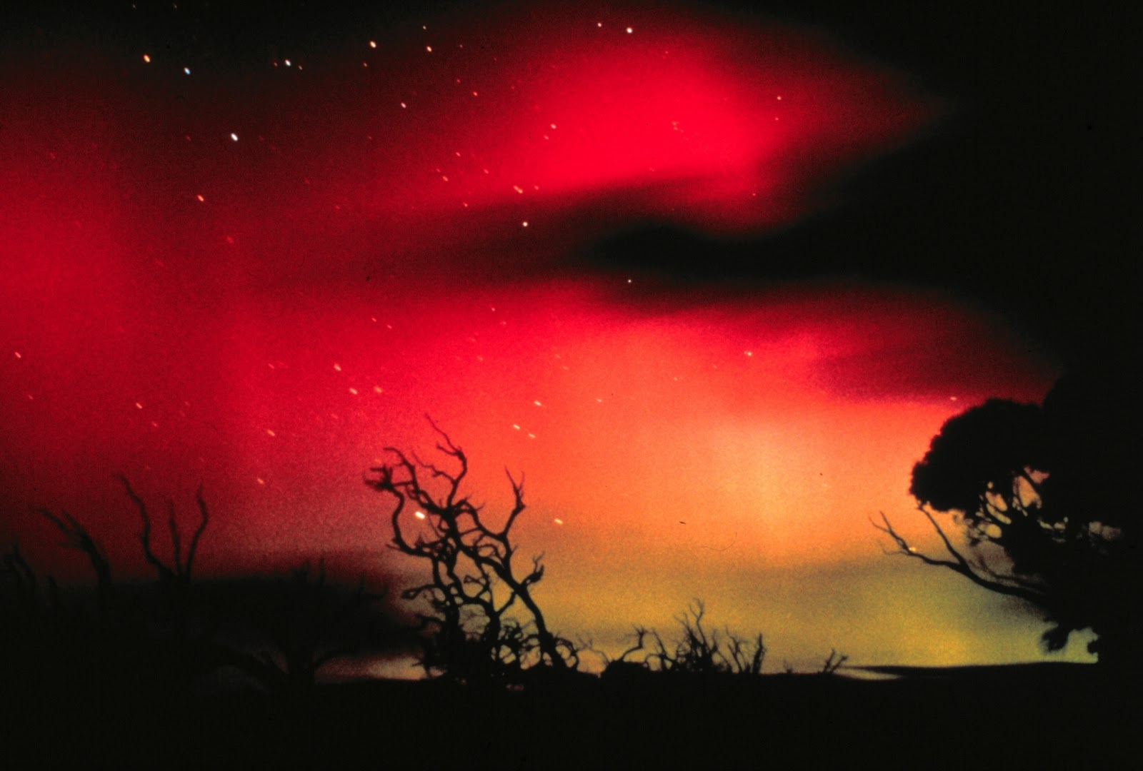 Northern Lights in Australia  Credit  National Oceanic and Atmospheric    Northern Lights