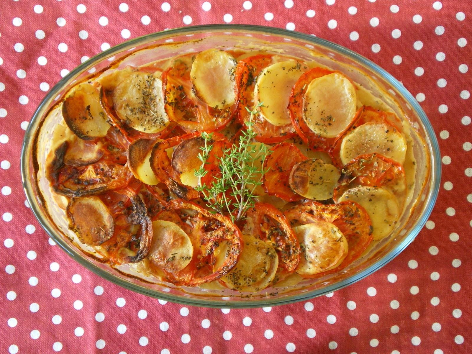 how to make vegetable gratin