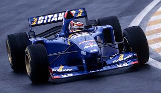 Ligier, equipe histórica de Formula 1 de 1995 - by goformula1.blogspot.com