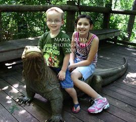 Christian and Maizie at the zoo
