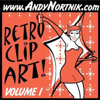 retro clip art