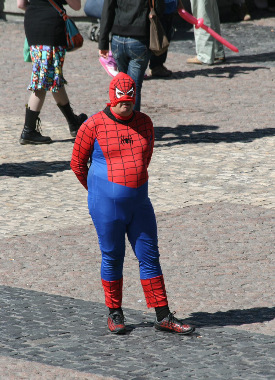 Fat Spiderman Funny Found this frid...