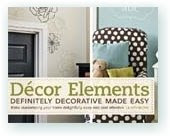Decor Elements!