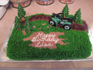 The Four Wheeler And Trees Are Made Of Marshmallow Fondant