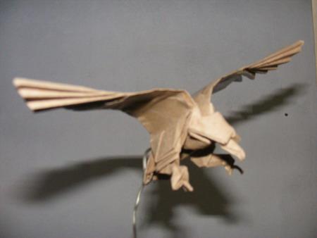Cara membuat Origami elang (eagle)