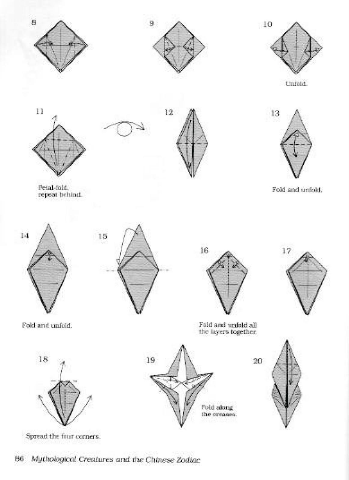 Onoy Origami Cara Membuat Origami Pegasus