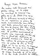 Scrisoarea testamentara a lui Marin Preda către Cezar Ivănescu