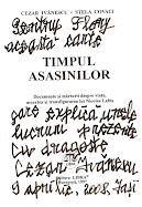 Cezar Ivănescu, dedicaţie  pe volumul Timpul asasinilor
