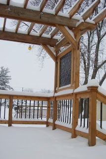 snow on the deck feb 5 2010