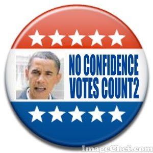 No Confidence 2008? NO TO OBAMA ELECTED IN 2008! <br>NOW, NOT 2012! (c) 2008 By Rev. Lainie Dowell