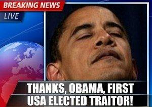 obama  the traitor