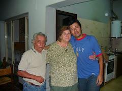 Agustín, Pocha y Adrián