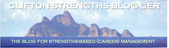 CLIFTON STRENGTHS BLOG GER