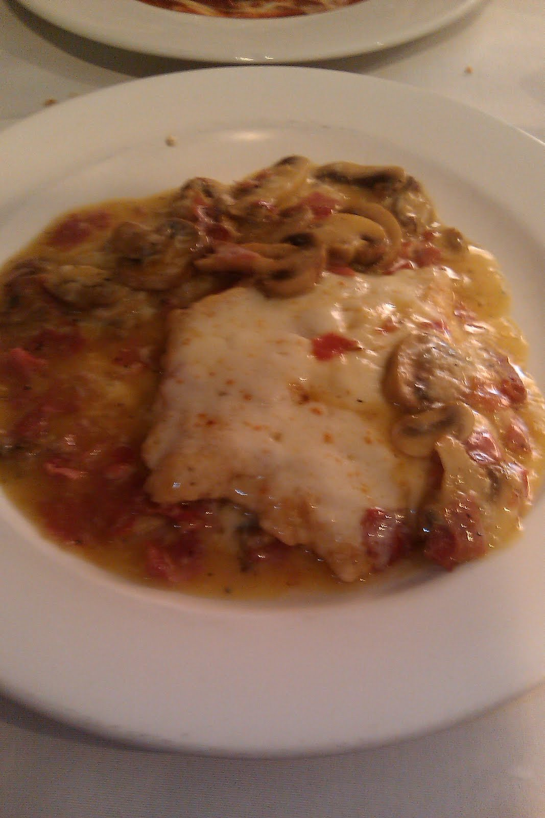 Tasting Binghamton: Oaks Inn Chicken Saltimbocca With Angel Hair
