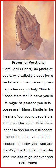 Prayer for Vocations