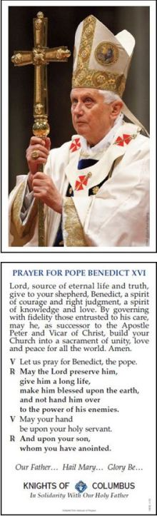 KOFC Novena for the Pope