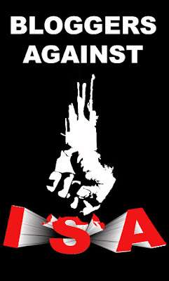BLOGGERS AGAINST ISA