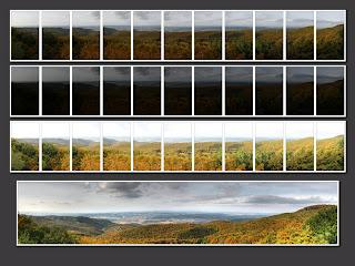 hdr suli panoráma bükk ősz látó-kövek látó-kő kilátás őszi tájkép