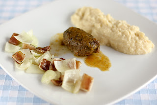 malac pofa malacpofi malacpofa sertéspofa sertés malacfül sertésfül hagyma karfiolpüré karfiol