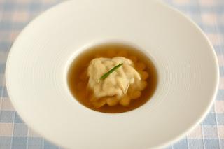 gödölye kecske derelye ravioli házi tészta áttetsző átlátszó ratatouille leves francia lecsó leves kaliforniai paprika cukkíni padlizsán paradicsom fokhagyma kakukkfű rozmaring