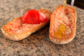 paradicsom kenyér olivaolaj