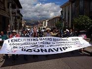 Cusco, Abril 2008: I Macroregional Sur CONAVIP