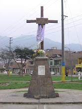 Cruz y Parque No Matarás, San Juan de Lurigancho, Lima.