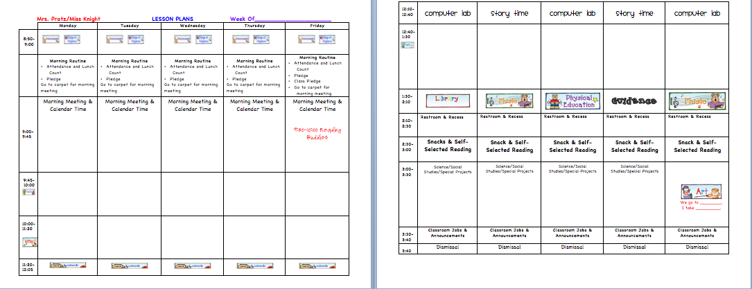 Miss knight 39 s khronicles lesson plan template mlk activity for Activity programme template