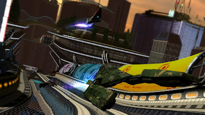 WipeOut HD Playstation 3 game screenshot 4