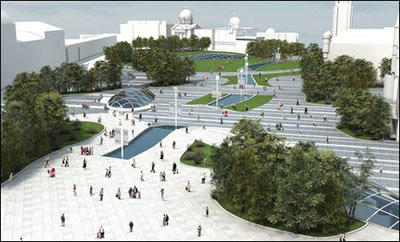 the fantastic scheme for Union Terrace Gardens
