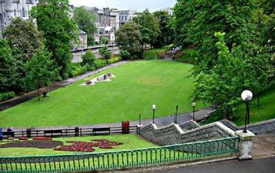 the existing slum gardens