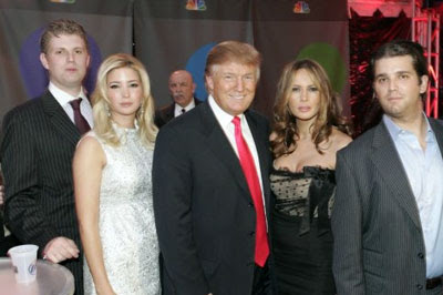 the fabulous Trump family