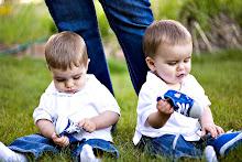 Gavin & Gage (aka the twins)