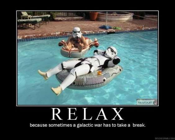 Relax humor
