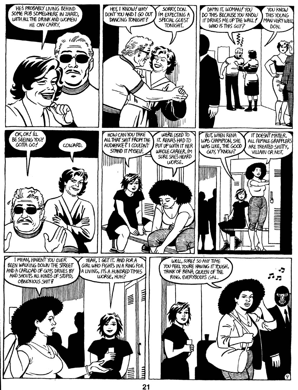 Love and Rockets (1982) Issue #16 #15 - English 23