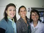 Professoras Regina Raitz Petri, Josete Clotilde da Cunha Pereira e Grasiely T. H. Prim