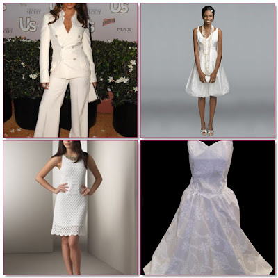 White Wedding Dresses on Non Traditional Wedding Dresses